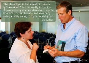 obesiteit volgens de Gabriel Methode, afvallen zonder dieet