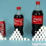 Een blikje cola is 9,5 suikerklontjes