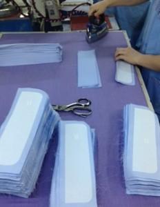 de productie van de overhemden van mouwlengte7
