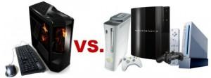 Computer versus console